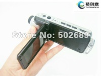 F900 Car DVR 100% H.264 compressed format 9712 HD Lens 4x Digital Zoom Car DVR recorder night vision HDMI Free shipping F900LHD
