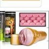 12pcs/lot Gold-colored  Pink Lady Stamina Training Unit fleshlight, metal  packing