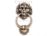 12cm Large Antique Lion Doorknocker Door Knocker Lionhead Doorknockers Lions Home Decor