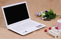 Free Shipping 14 inch windows laptop computer Intel D2500 1.86Ghz Dual Core 4GB RAM 500GB HDD Multi Language Windows OS+Keyboard