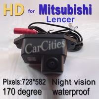 CCD170 degree car rearview/parking/reversing camera for Mitsubishi Lancer,Waterproof &Night version,Size:79.8*35*44mm,NEW