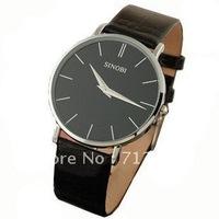 New Fashion Luxury Mens Ultra-thin Analog Watches Wrist Watch Quartz