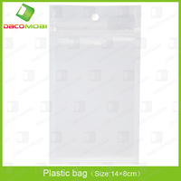 3000Pcs/Lot 14*8CM Ziplock,Zipper Lock Clear Plastic Bags,OPP Retail Bag,Self Seal Plastic Packaging Bags DHL Free Ship