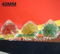 Good quality shinning 40mm TRANSPARNETS crystal chandelier ball / crystal lighting ball