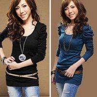 Женская футболка fashionable Lycra butterfly women T shirts model 9204