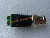 Free Shipping 50pcs Coax CAT5 To Camera CCTV BNC Video Balun Connector