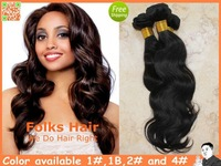 "Queen Hair Factory Price 100% Peruvian Hair Peruvian Body Wave 3pcs/lot (12""-32"") DHL Free Shipping Soft 1#,1b,2#,4#"