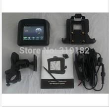 FREE SHIPPMENT ~  motorcycle navigator waterproof GPS @3.5″ motocycle gps waterproof+Bluetooth+FM+Map russian