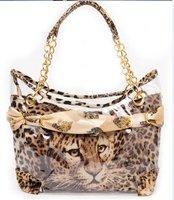 Hot Sale 2015 Spring Fashion Women Leopard Handbag Leopard Shoulder Bag Women Famous Brands Leather Handbags Designers Bag B008
