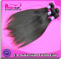 "Virgin malaysian hair, retail 12""-30''inch straight hair 1pcs/lot,6A high quality Malaysian hair straight"