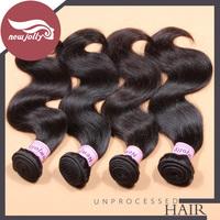 Body wave brazilian virgin hair Grade 7A 100% human hair weave 12-28 inch brazilian remy hair free shipping
