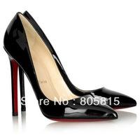Free Shipping! Branded Popular classic women Red Sole Pumps,12CM Patent Leather Pigalle High Heels shoes,kinds of colors