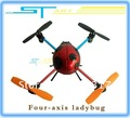 wholesale Hot Swift 6043 4ch rc quad helicopter Four axis ladybugs new 100% Can make 3D tumbling flying action