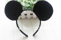 24 pcs a lot Kids Mickey mouse ears costume birthday party headband