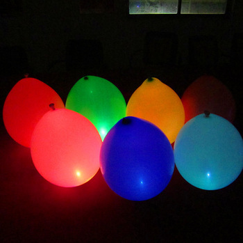 Wholesale Led Balloon, Latex balloon with led light for party decoration, 1000pcs a Lot!