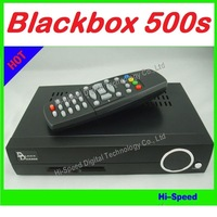 5pcs/lot Blackbox 500S Set Top Box DVB-S Digital Satellite TV Receiver free shipping by fedex