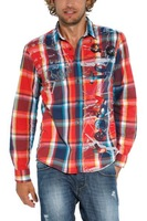 Authentic Cs.Desigual plaid shirt men brand free shipping S M L XL XXL