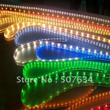 70M/LOT High bright led ribbon strip light 60leds per meter 5050 smd Free Shipping +Waterproof IP65/IP66(China (Mainland))