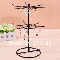 JD004--12 Hook metal Rotation jewelry display Stand, layer spacing 12 CM