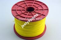 Free Shipping 1000m 400lb 100% Netherland DSM SK75 dyneema braid kite line 1.5mm 8 weave