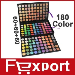 180 Color Eyeshadow Eye Shadow Makeup Make Up Palette Kit Free Shipping Fexport, 180B(China (Mainland))