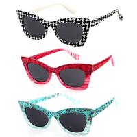Hot Fashion Retro Cat EYe Sunglasses Women New 2014 UV400 Sun Glasses Eyewear 6 Colors 1 pcs with Cheap Price
