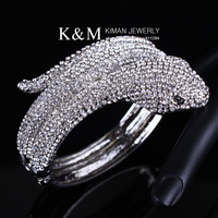 K&amp;M---Fashionable Classic design snake shape bangle BR-03075. Nickel Free, Free shipping.Mix order.
