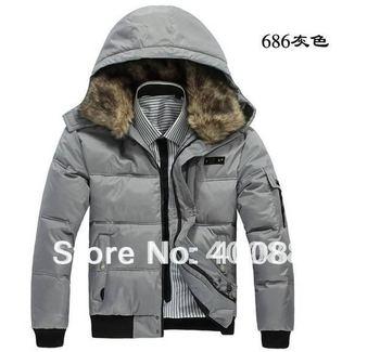free  shipping  2012 NEW  men's winter jacket/ men's coat  size : M-XXXL