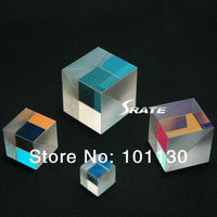 4pcs/lot 2X2X1.7cm Defective Cross Dichroic Prism RGB Combiner  or Splitter X-cube prism
