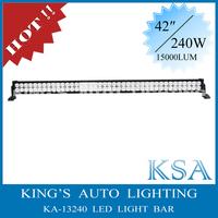 Super bright !14400 Lumen , 240W , 44'' LED Light Bar For 4x4,Suv,atv ,Truck,Mining,off road light bar
