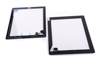 11.19usd for ipad 2 touch screen digitizer  Black and white the same price 100pic//lot (Assembly home button Camera frame 3M)