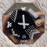 Stamping Image Template Plate  Nail Art Stamping    QA36  nail art stamping kit