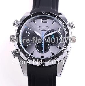 4GB 8GB 16GB 1080P High Resolution Waterproof Watch DVR with IR Night Vision HD Hidden Watch Camera Elegant Wrist Sport Watch