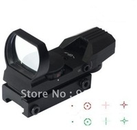 (Free Shipping)Tactical Electro Green and Red Dot Sight Rifle Scope for airsoft 5pcs/lot