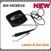 Latest Digital Ultrasonic Hair Extension Machine/ Connector GH-HC6010 with All Black Handle, Free Shipping