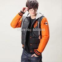 Winter Fashion Baseball Sport Hoodie Winter Jacket Men 3XL Plus Size Mens Down Jacket Outwear Casual Stylish Design Coat Qy490