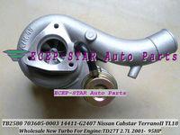 100% NEW TB2580 703605-0003 14411-G2407 TURBINE TURBO Turbocharger For Nissan Cabstar Terrano II TL18 2001-  2.7L Engine TD27T