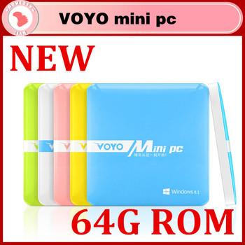Newest Windows VOYO mini PC Intel Quad core 2GB RAM 64GB ROM,windows8.1 mini pc for smart office