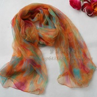 2013 New Arrival Fashion Hot Sale Women 100% Natural Silk Long Silk Scarf Printed,Female Silk Scarf 180*105cm For Winter,Autumn