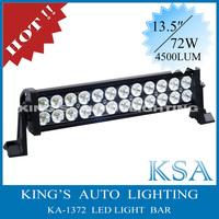 Free Shipping !!!! 72W led off road light bar, 12V / 24V 16 '' mining light bar 4x4 accessories , rigid led light bar for car