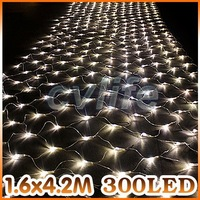 300 Leds 8 flash modes super bright web net string light warm white/white/multicolor celebration Christmas xmas wedding ceremony