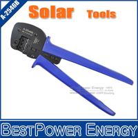 Ratchet Crimping Plier, Brand New MC4 Crimp Tools Crimping Connector Solar PV Crimper Free Shipping