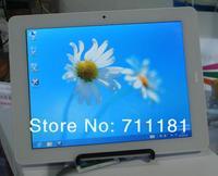 Fashion 9.7 inch 128GB/64GB/32GB SSD Dual Core Intel N2600 3G WCDMA/2G GSM SIM Card slot phone call ultrabook notebook tablet pc