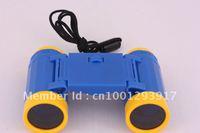 Free shipping 8pcs/lot best Christmas gift children plastic toy binocular