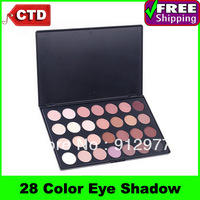 Beauty Product Series--P28  Wonderful Leading-the-trend 28 Warm Color Palette Powder Eye Shadow Makeup