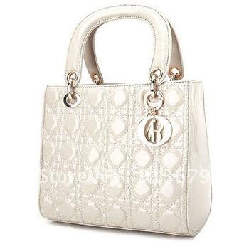 2012 New  Fashion Ladies' Vintage Celebrity Tote PU Leather Handbag Shopping Shoulder Bag HB012