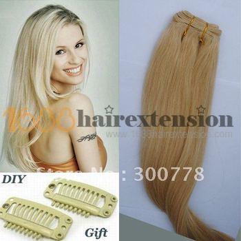 """AAAA Queen Hair extension Retail Peruvian 100% human Hair Extensions Hair Weft Long 20"""" 100g hair weaving Free Shipping"""