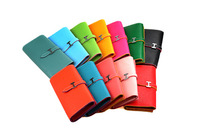 2014 HOT sale 11 colors fashion lady wallets, pu leather wallets women purse(QH09)