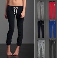 19 colors Women sport  straight Sweatpants 2012 new /S-L size sportswear pants 1 piece Free shipping women athletic wear/ YD1093