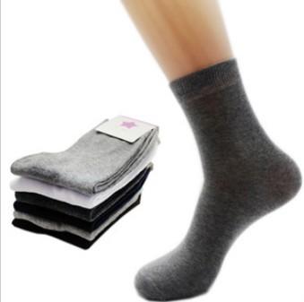 Дешевые новое горячая распродажа soild бизнес хлопчатобумажные носки мужчины носки 5-pack высокое качество бесплатная доставка 6115-1002